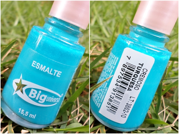 Esmalte Big Universo: Turquesa Nails