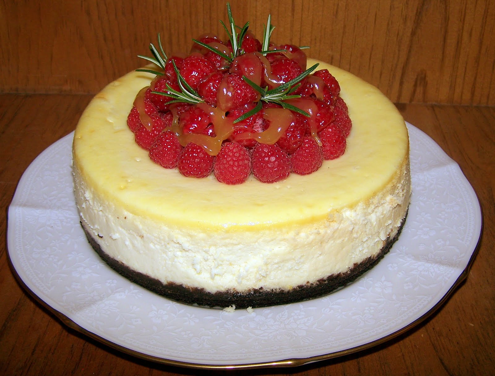 TheKitchenCookie: Lemon Cheesecake