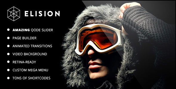 Elision v2.1 - Retina Multi-Purpose WordPress Theme