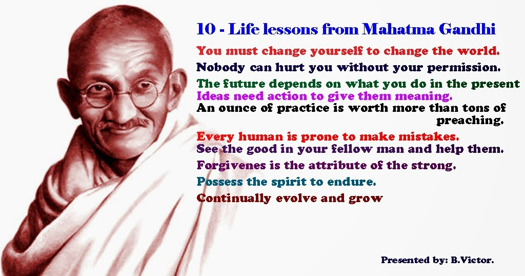 ghandi essays In his essay, gandhi says that to reach this level which he considered bringing  offense to no other person, keeping pure thoughts especially with your.