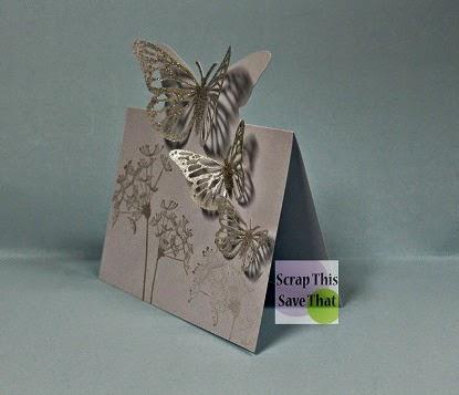 Glitter, butterfly