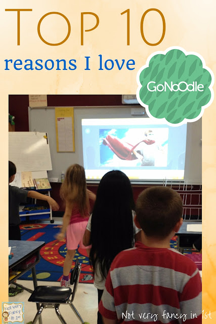 Top 10 reasons I love GoNoodle.com