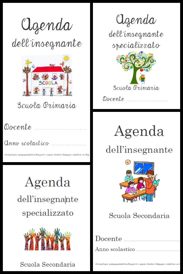 Top Pedagogia e didattica: Agende per gli insegnanti di scuola  WX12
