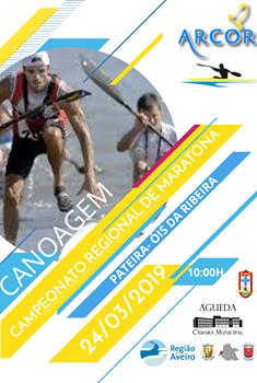 Regional de Maratonas de Canoagem do Centro em Óis da Ribeira