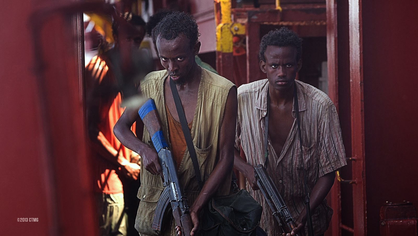 Barkad Abdi in Captain Phillips