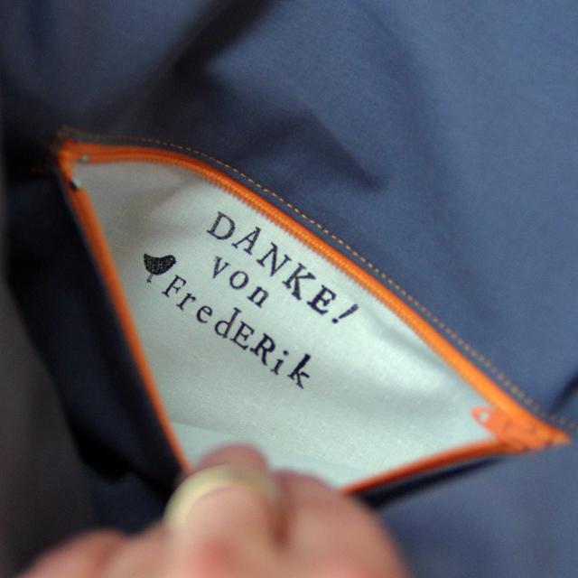 Innentasche mit Reißverschluss ganz einfach nähen @frauvau.blogspot.de