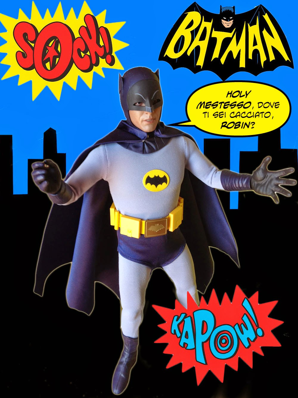 Batman telefilm Hot Toys recensione
