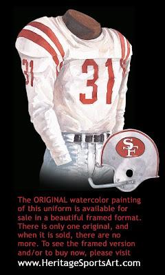 San Francisco 49ers 1963 uniform
