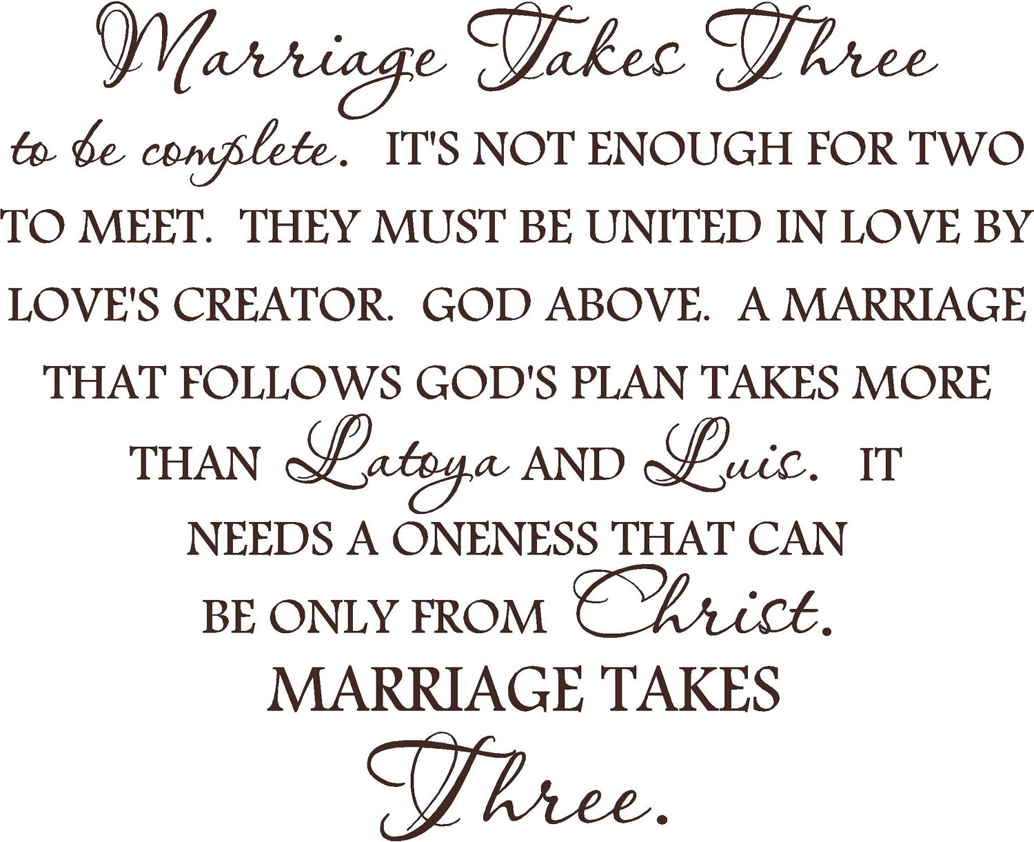 Quotes About Love And Marriage Funny : Marriage quote