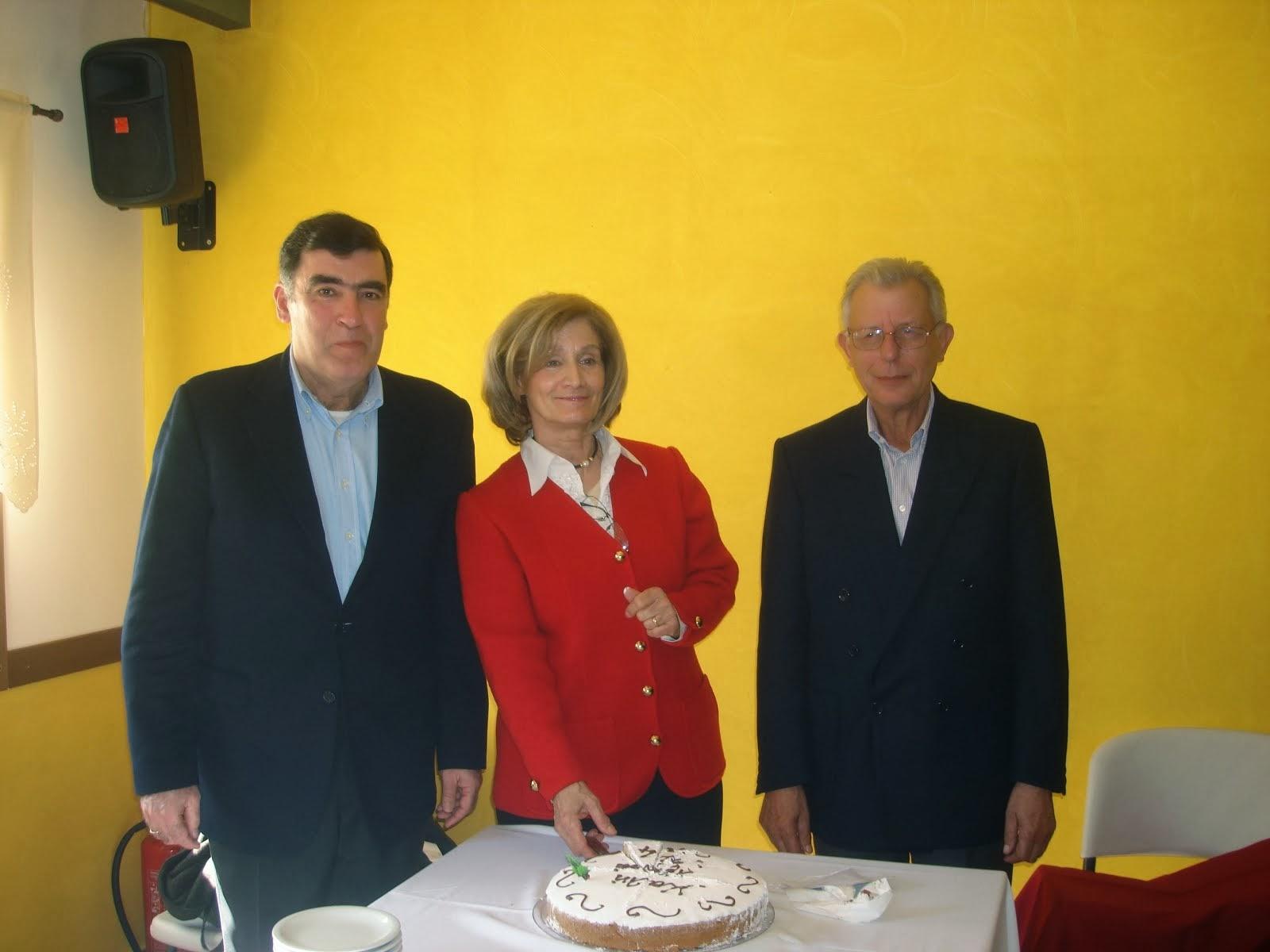 Η κοπή πίτας του Συλλόγου Καρυτινών που έγινε φέτος στο χωριό