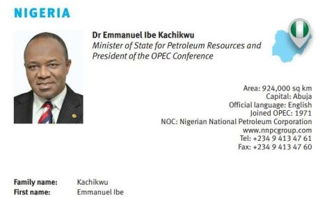 Ibe Kachiukwu becomes New OPEC President