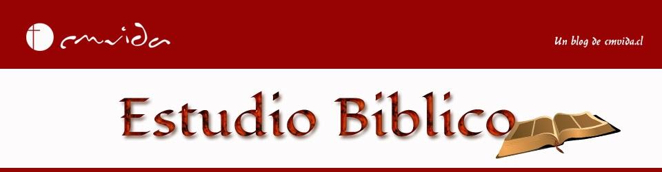 Estudio Biblico Cmvida