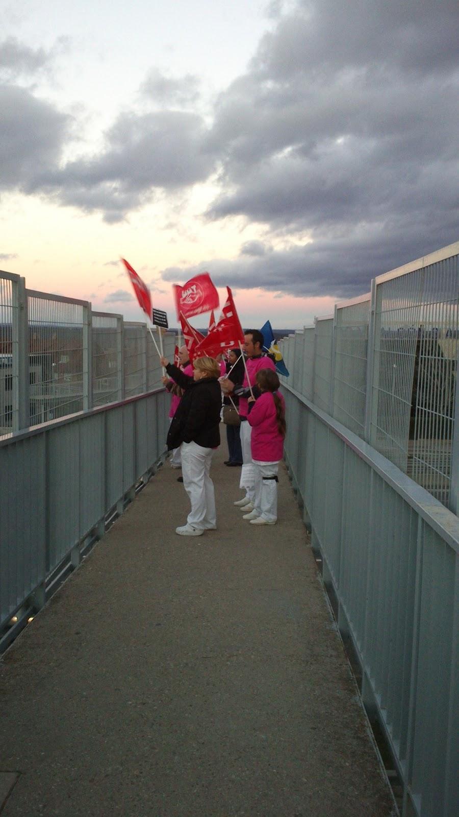 IU-Las Rozas - Las Matas Apoya las movilizaciones de los trabajadores de la Rersidencia de Mayores