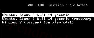 grub2 Ubuntu Linux