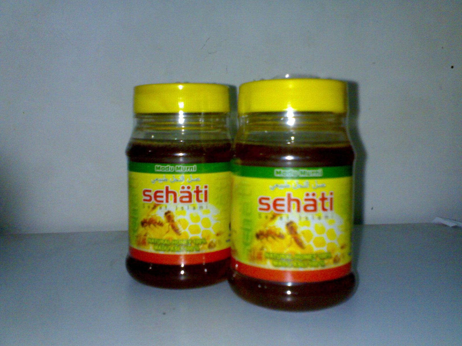 Herba SEHATI - Madu - Habbatussauda - Pelangsing Susut Lemak