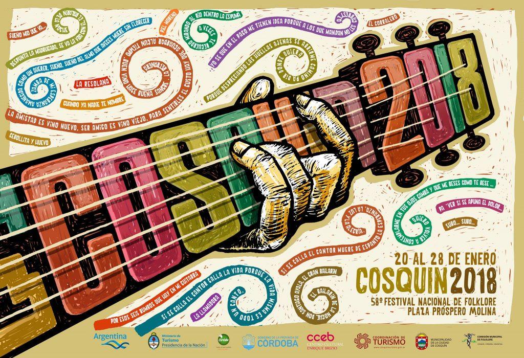 20 al 28 de enero  58º Festival Nacional de Folklore