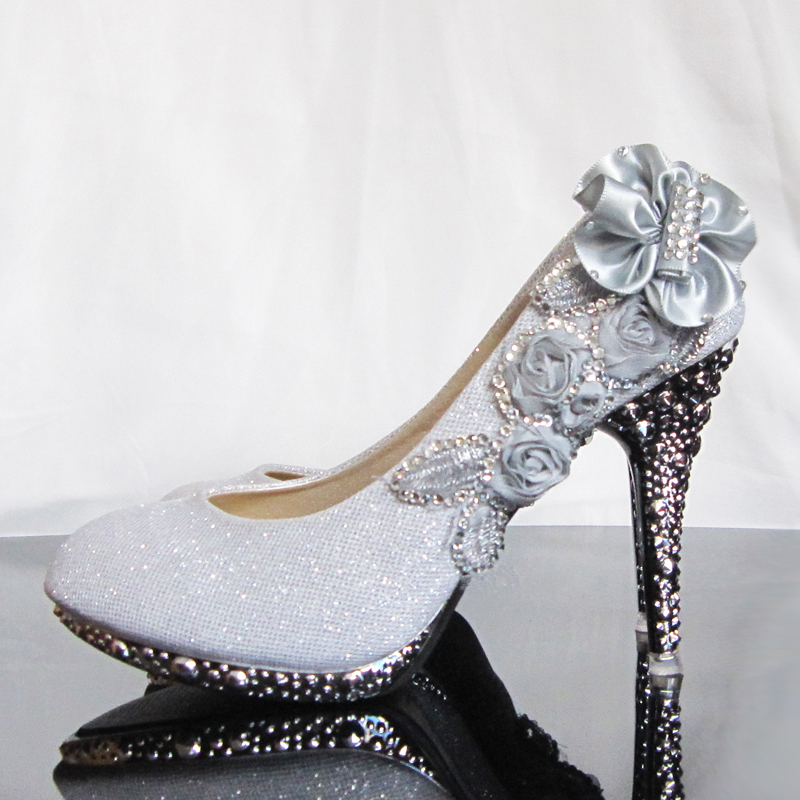 Cool Things On Sale Flower Wedding Shoes