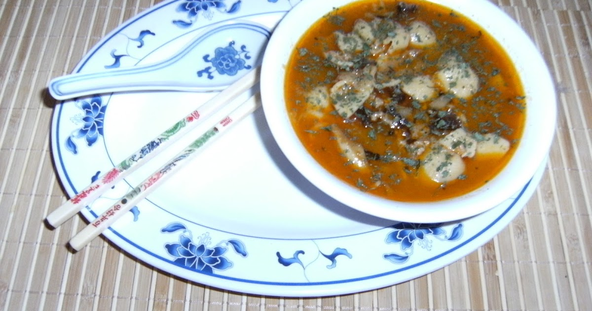les recettes chouettes de sissi soupe chinoise aux miettes de crabe mini raviolis. Black Bedroom Furniture Sets. Home Design Ideas