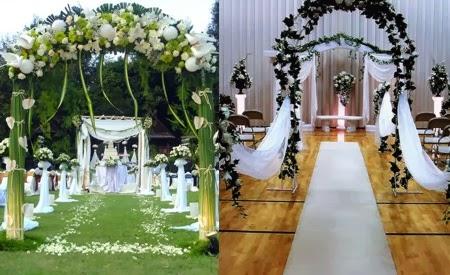 Arcos de Bodas con Flores, parte 4