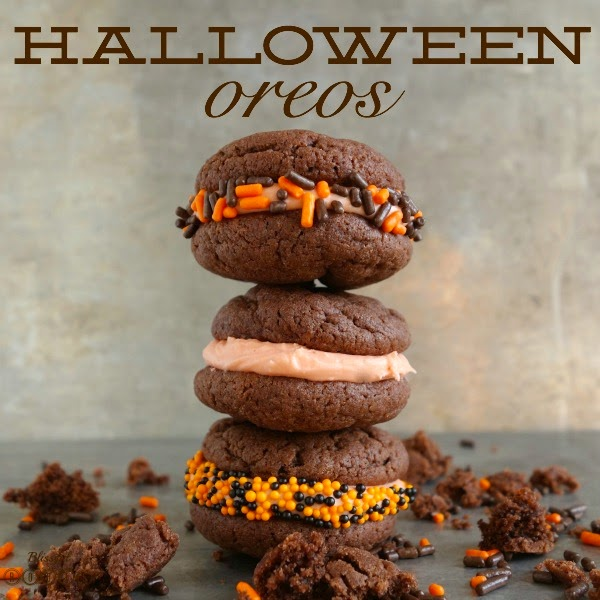 Homemade Halloween Oreos @ Blissful Roots
