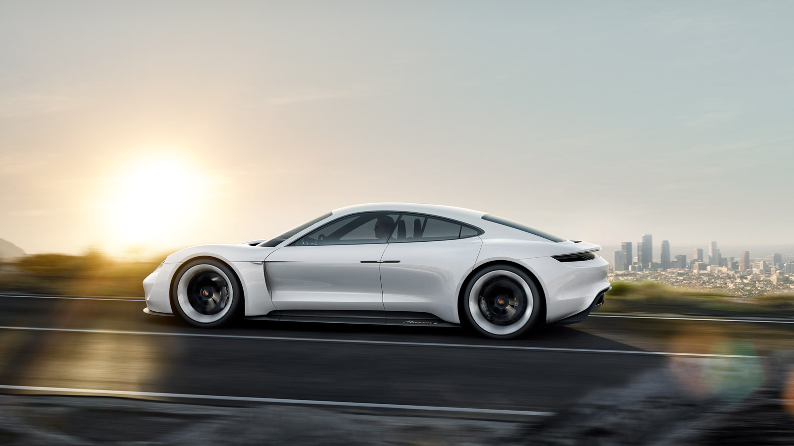 Porsche Mission E Challenges Tesla Motors In The Luxury Electric