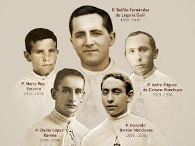 Mario, Eladio, Teófilo, Gonzalo, Isidro
