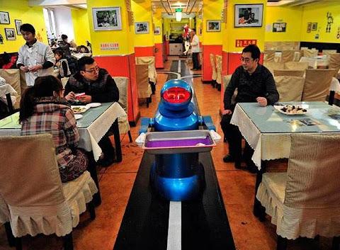 Restoran Robot di Harbin