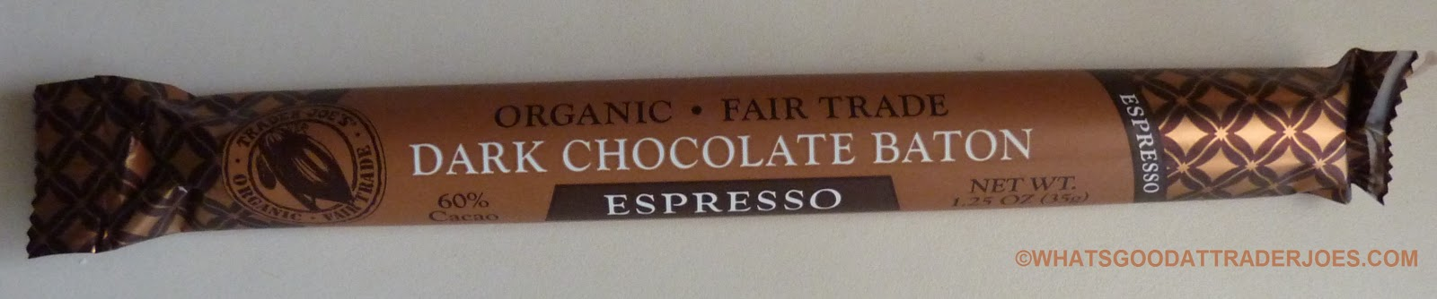 Trader Joe S Espresso Chocolate Bar