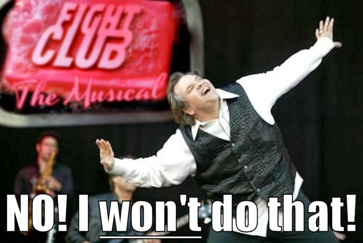 Meat Loaf won't be in Fight Club - The Musical