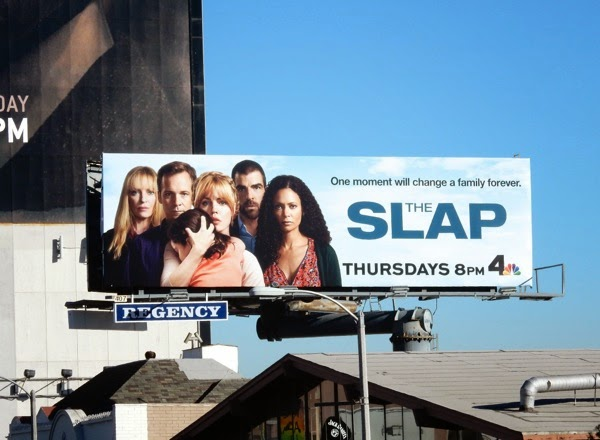 The Slap series premiere billboard