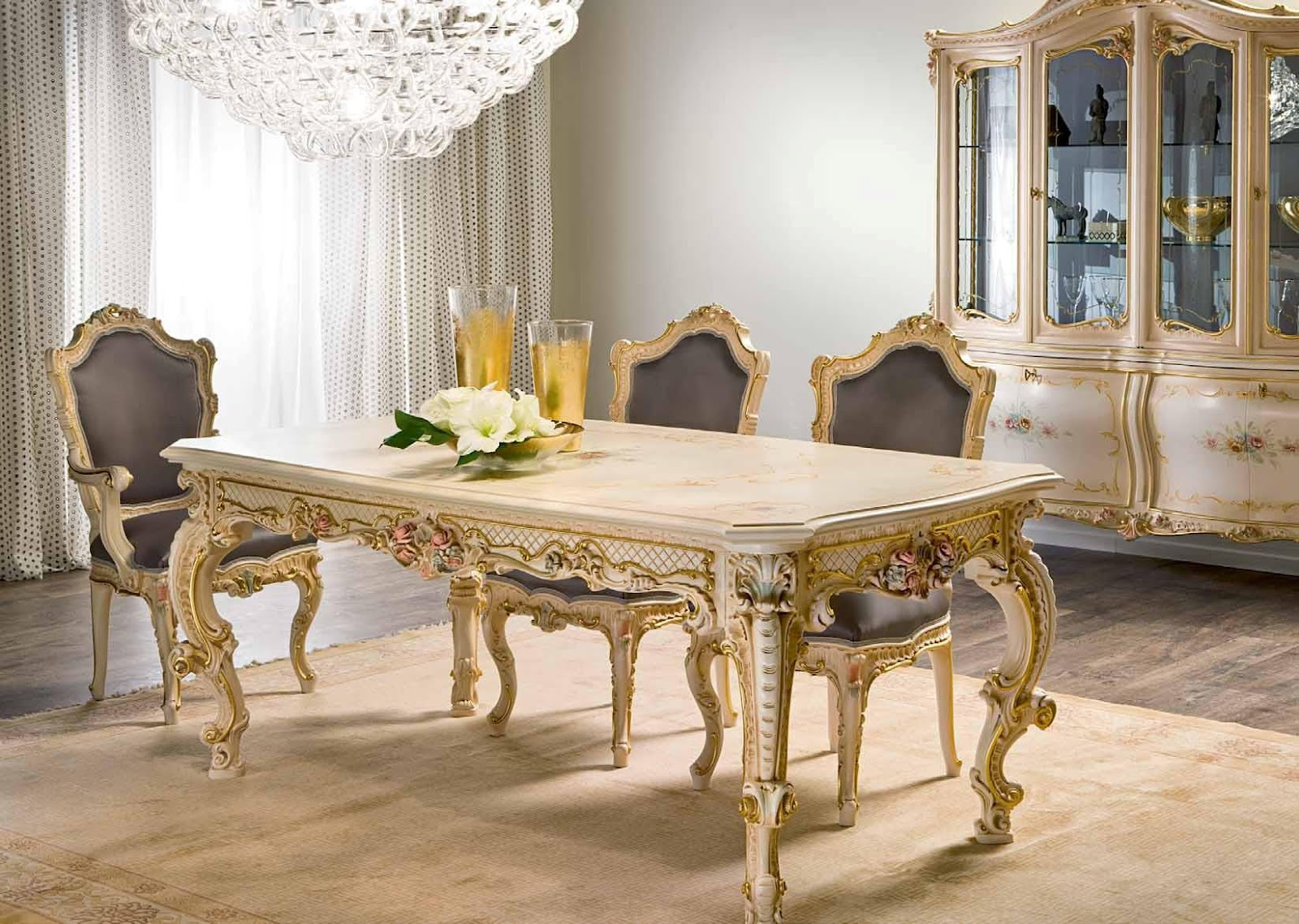 Antique french furniture french style furniture for French dining room furniture