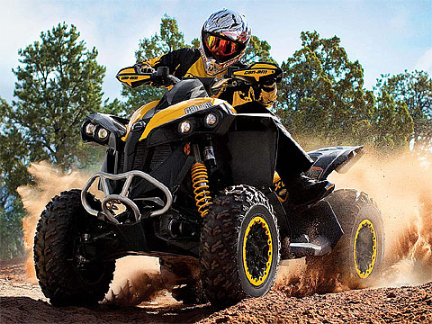 2013 Can-Am Renegade Xxc 800R ATV pictures. 480x360 pixels