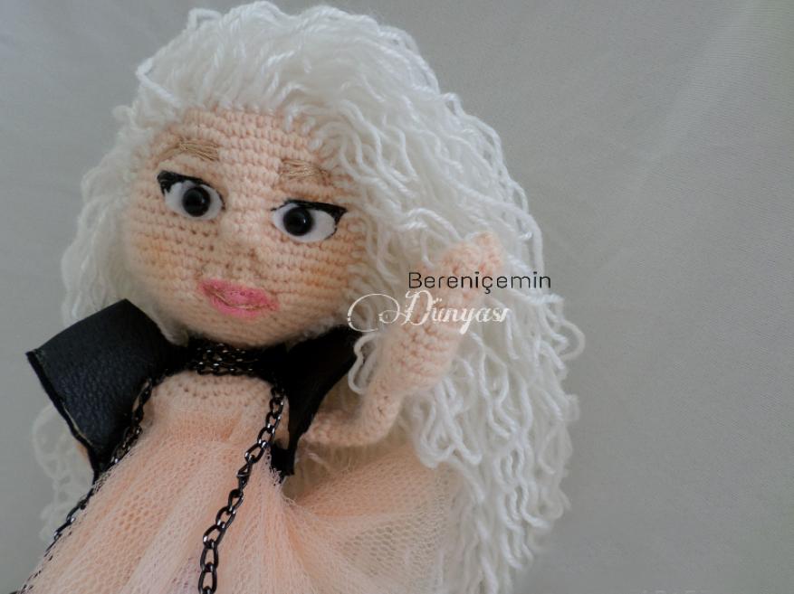 Amigurumi Bebekte Saç Yapımı : Bd hook amigurumi kumsal bebek free pattern amigurumi