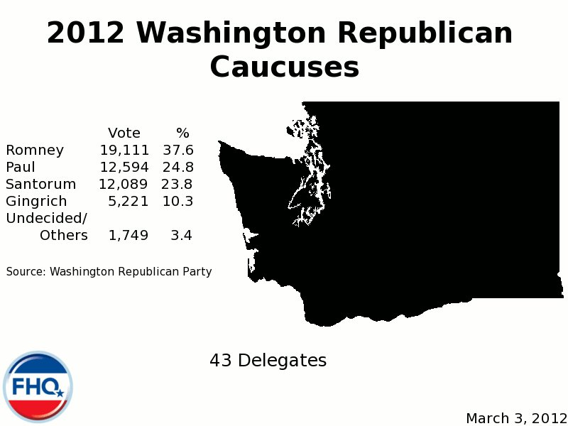 2012 Republican Presidential Primary/Caucus Results