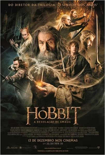 Download Filme O Hobbit: A Desolação de Smaug – BDRip AVI Dual Áudio + RMVB Dublado