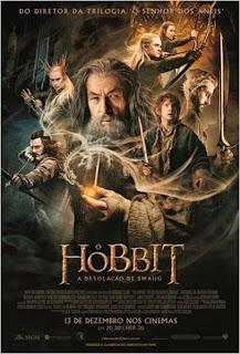 Filme Poster O Hobbit: A Desolação de Smaug TS XviD & RMVB Dublado