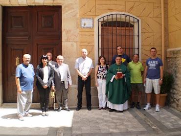 INAUGURACIÓN CAMINO SANTIAGO CAUDETE (10-07-2011)