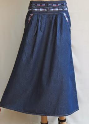 Skirt Jeans Long RM328