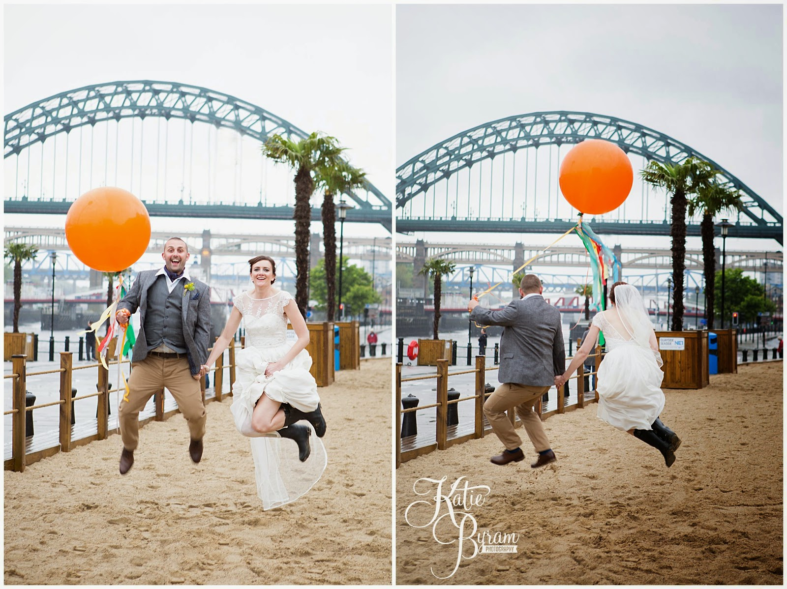 giant balloons, summerhill bowling green, quayside wedding, newcastle wedding, no ordinary florist, vintage wedding, diy wedding, katie byram photography