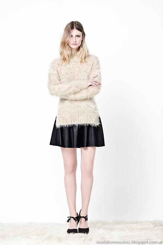 Delaostia otoño invierno 2014. Moda otoño invierno 2014 sweaters.