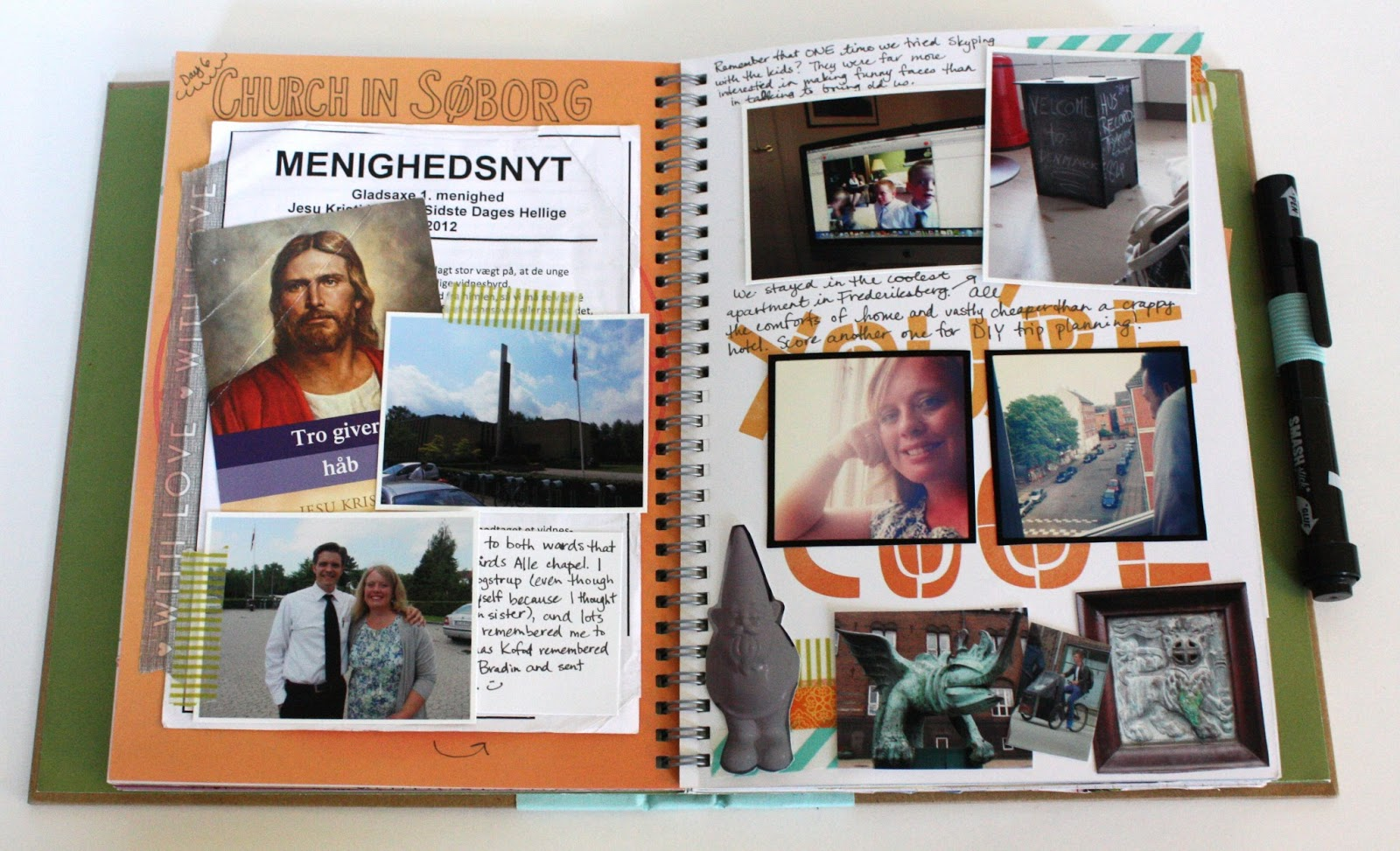 Scrapbook ideas adventure - Any Lds Friends Might Recognize The Guy In This Picture As The Actor Who Played Jesus In The Testaments He Was In My Ward When I Was A Missionary