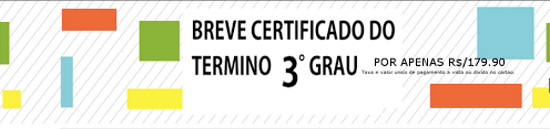 Breve o certificado do 3° Grau