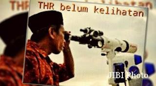 Meme Lucu Idul Fitri THR