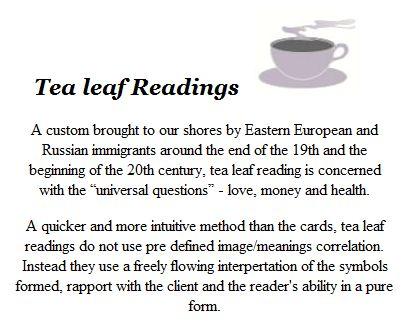 Johanna 14 Tasseography Tea Leaf Reading