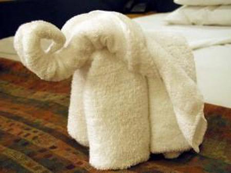 Como hacer formas en toalla imagui for Adornos con toallas