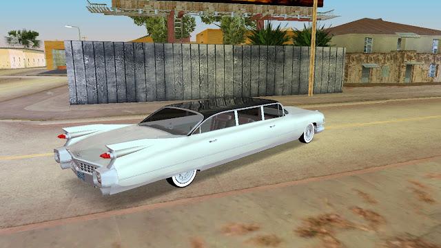 Cadillac Stretch Limo 1959 GTA Vice City