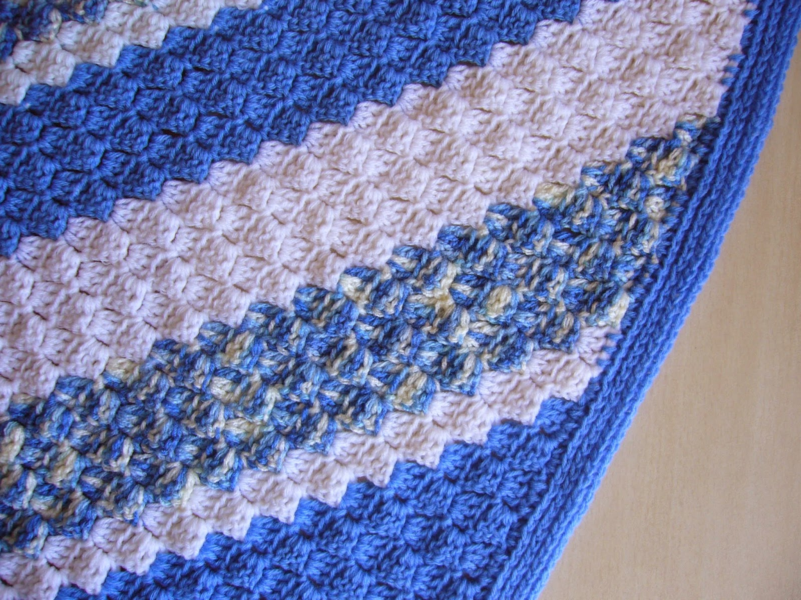 crochet c2c blanket edging
