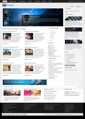 Share template JV Stego - Joomla 1.5
