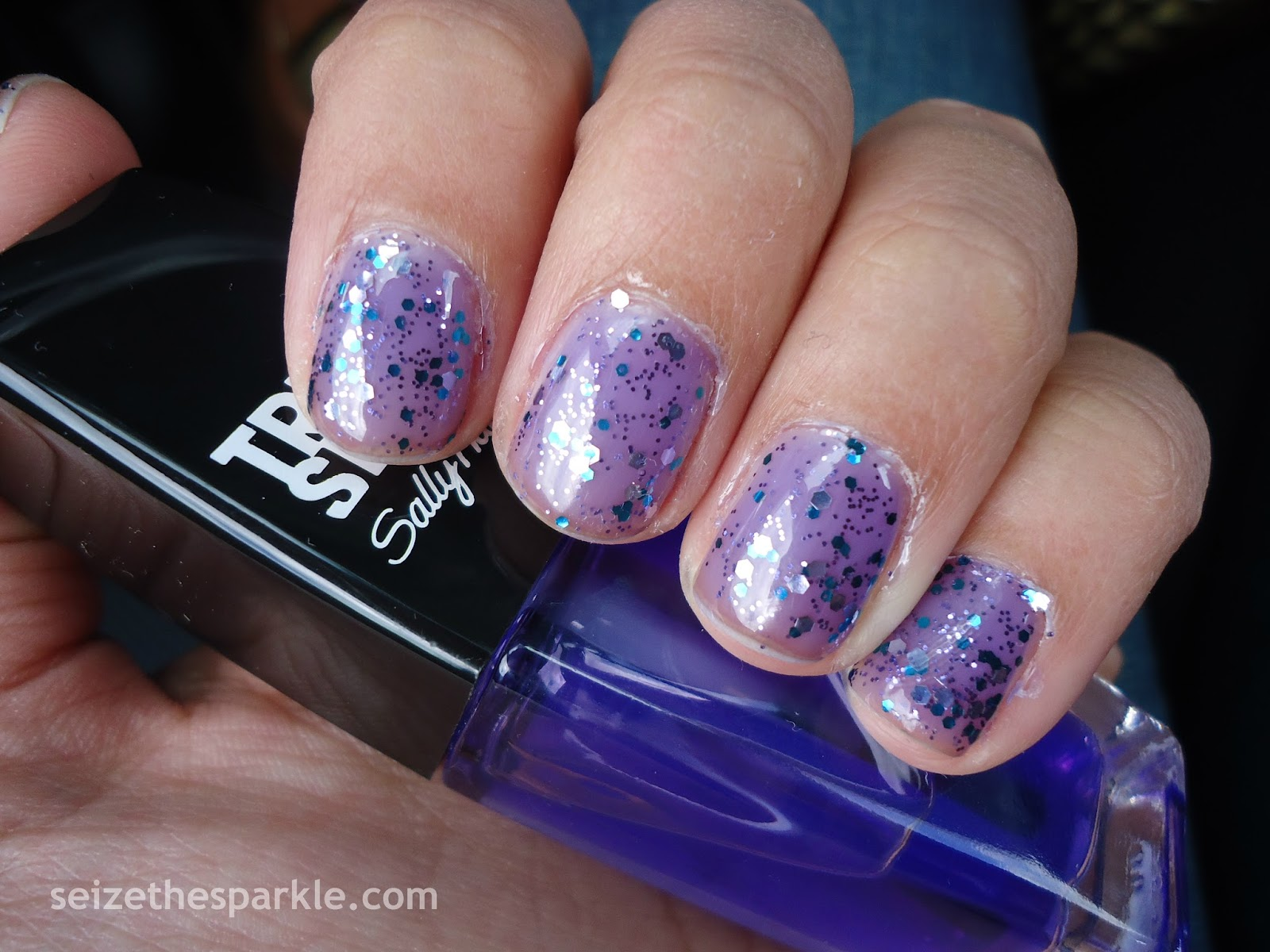 Sally Hansen Grape Jelly Glitter Sandwich