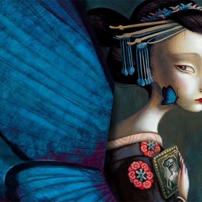 The butterfly lovers by benjamin lacombe